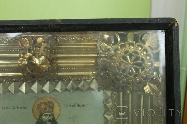 Икона в окладе №2, фото №6