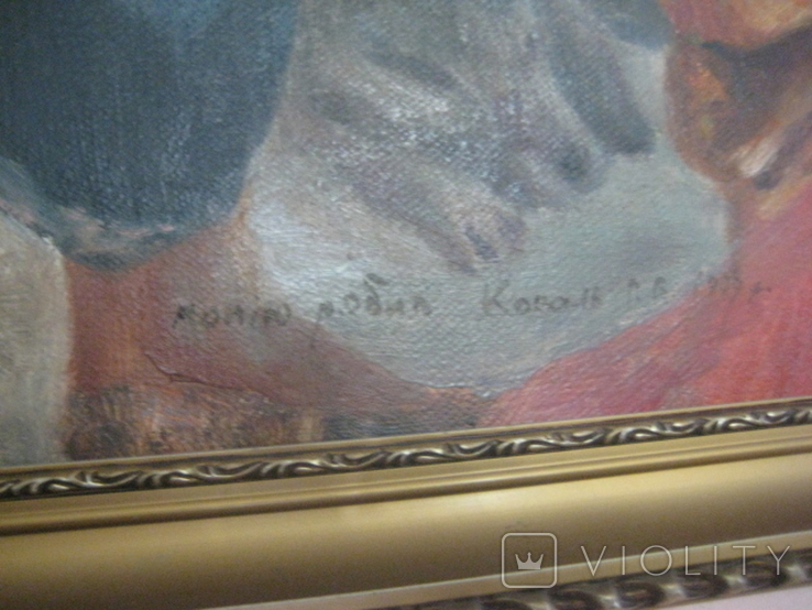 """Копія картини Репіна """"Козаки пишуть лист султанові"""", фото №4"""