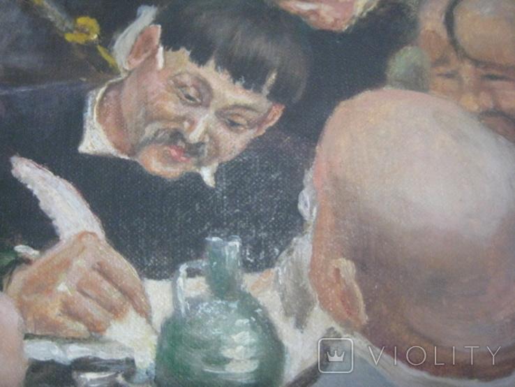 """Копія картини Репіна """"Козаки пишуть лист султанові"""", фото №6"""