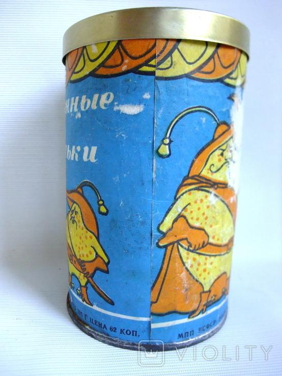 Коробочка от мармелада Апельсиновые лимонные дольки. СССР - гост 1969г., фото №5