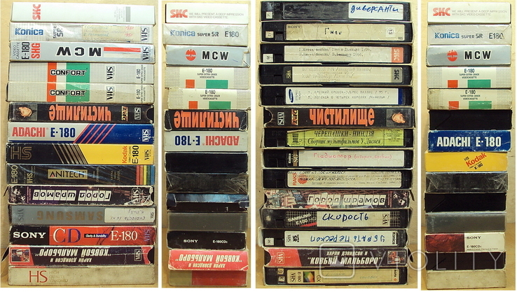 Видеокассеты - 56 шт. с фильмами, фото №3