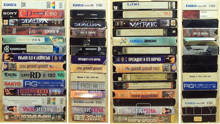 Видеокассеты - 56 шт. с фильмами, фото №4