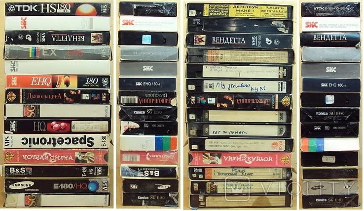 Видеокассеты - 56 шт. с фильмами, фото №6