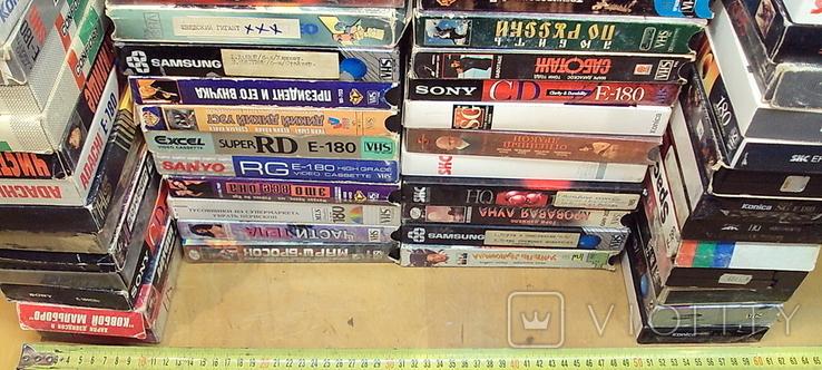 Видеокассеты - 56 шт. с фильмами, фото №7