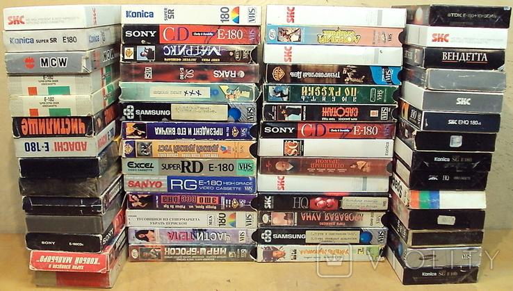 Видеокассеты - 56 шт. с фильмами, фото №9