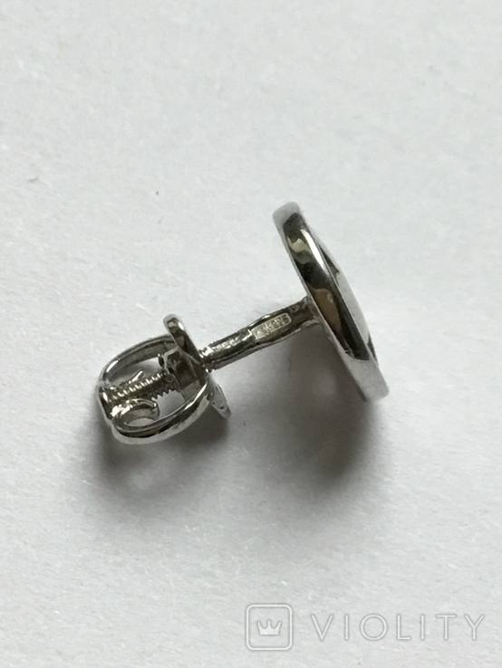 Сережки гвоздикм, фото №6