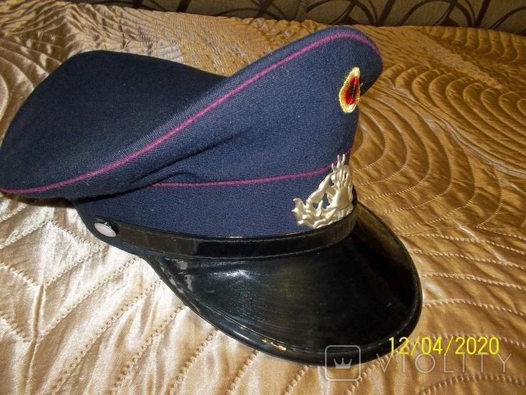 Фуражка  пож.  полиции  .  германия ., фото №2