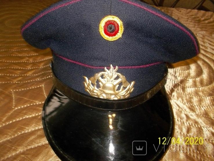 Фуражка  пож.  полиции  .  германия ., фото №3