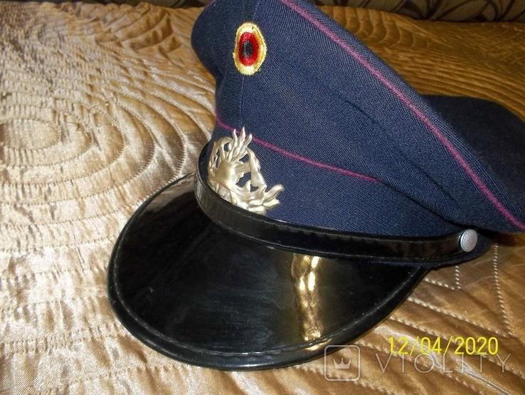 Фуражка  пож.  полиции  .  германия ., фото №9