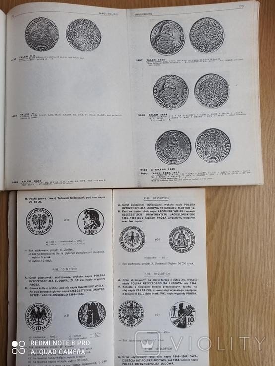 Каталог талеров Германии и каталог польских монет. См. описание., фото №2