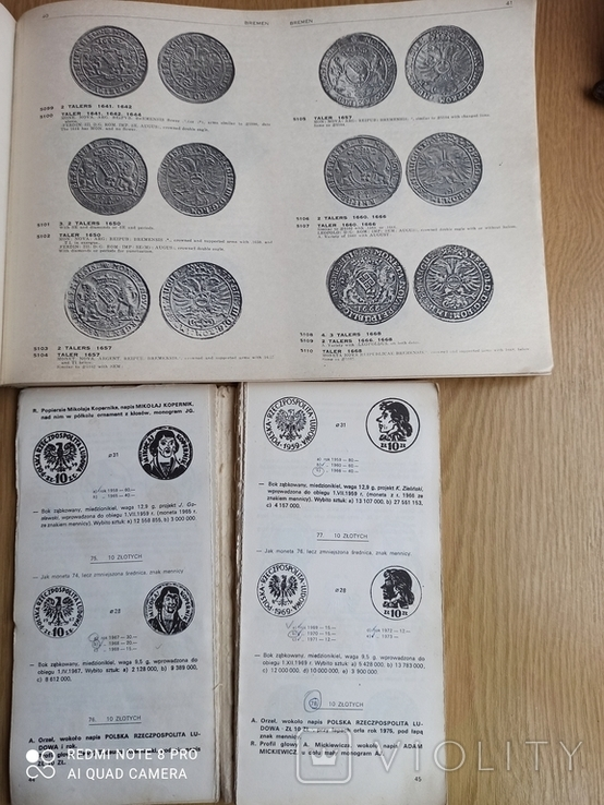 Каталог талеров Германии и каталог польских монет. См. описание., фото №7