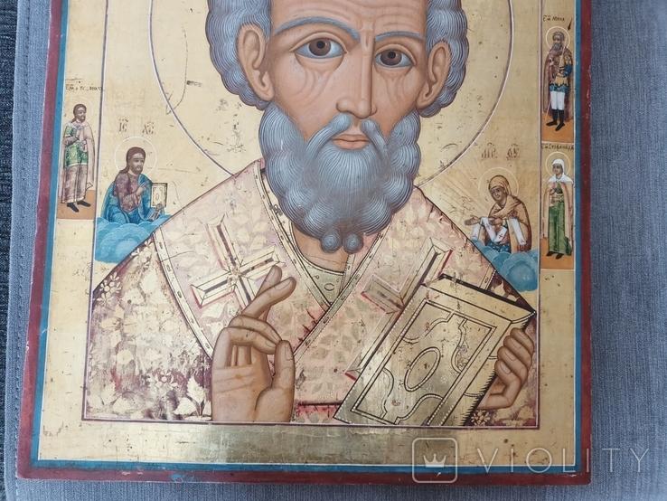 Икона Святого Николая, фото №4