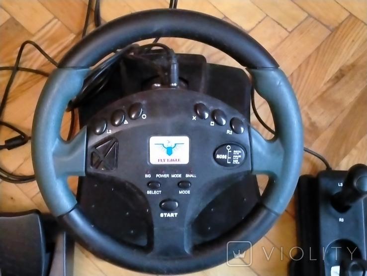 Игровой манипулятор p&d trans wheel fe-8288, фото №6