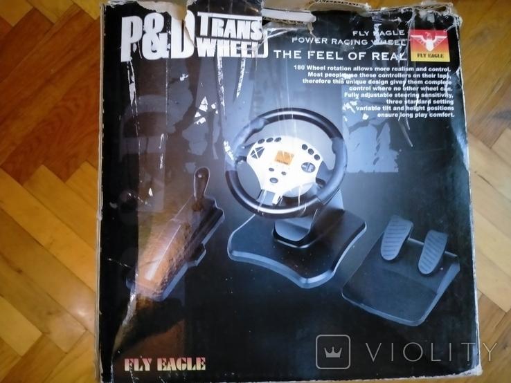 Игровой манипулятор p&d trans wheel fe-8288, фото №9