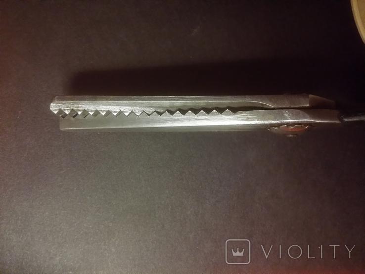 Ножницы закройщика для формирования кромки Цена 12 рублей, фото №5