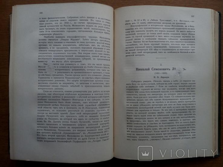 История Русской Литературы 19 века 1910 г., фото №13