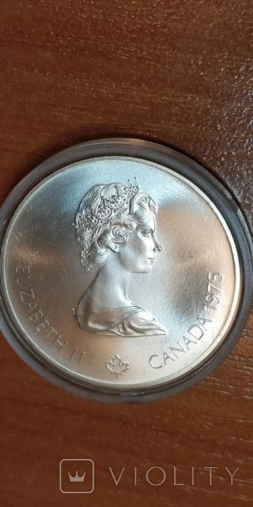 Канада,5 долларов,Олимпиада 1976 г., фото №4