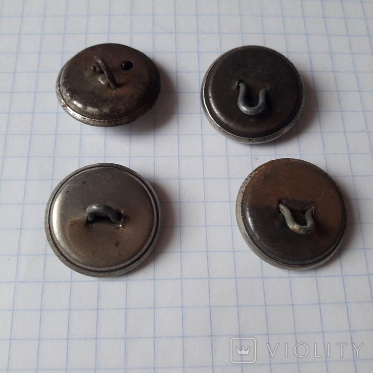 Пуговицы на шинель китель инженерные войска, 40-е, фото №8