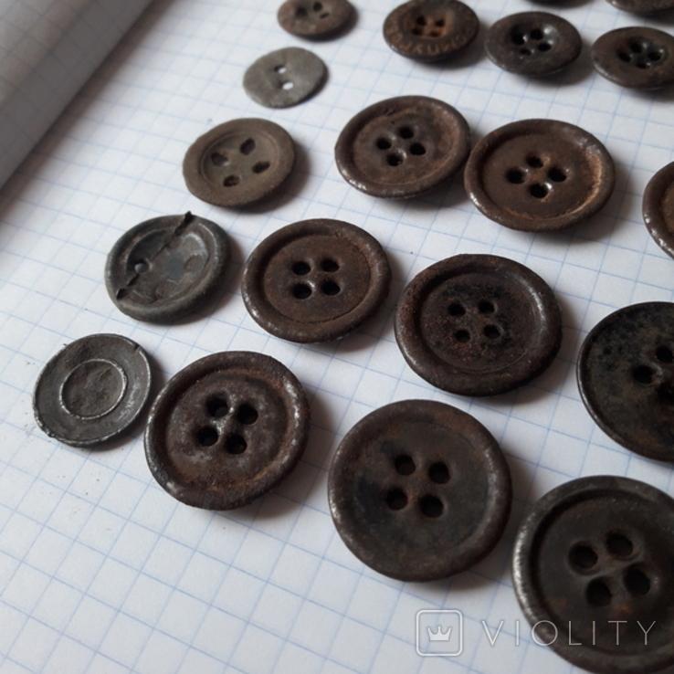 Пуговицы на амуницию разных времён, 22 мм и др., 23 шт, фото №4