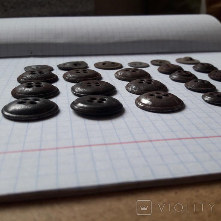 Пуговицы на амуницию разных времён, 22 мм и др., 23 шт, фото №7