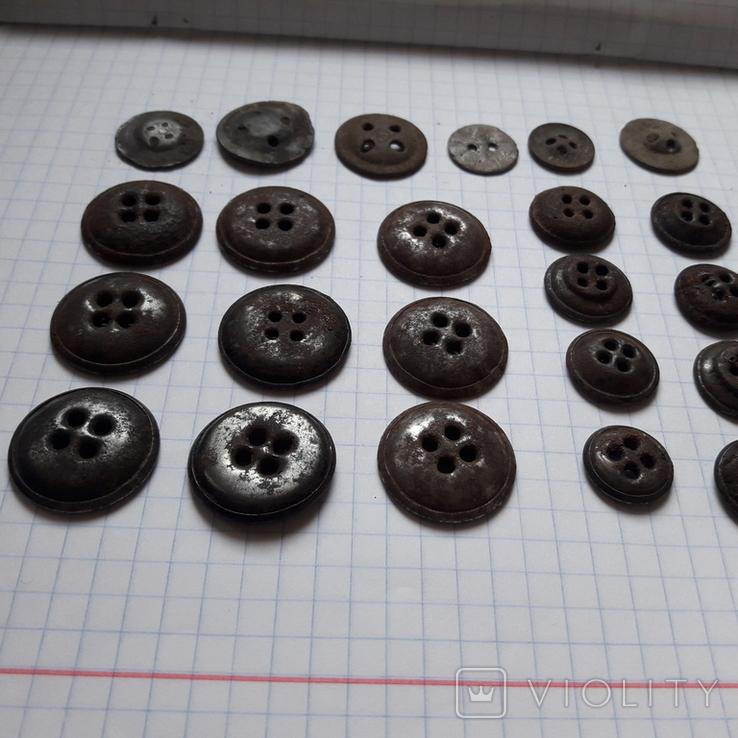 Пуговицы на амуницию разных времён, 22 мм и др., 23 шт, фото №9