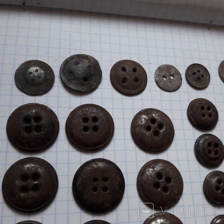 Пуговицы на амуницию разных времён, 22 мм и др., 23 шт, фото №10