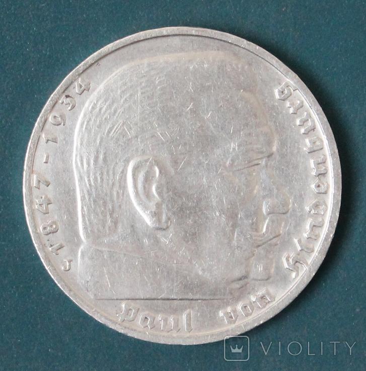 5 марок 1937(J), фото №3