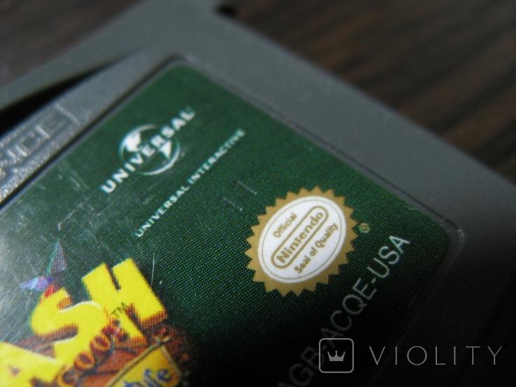 Картридж для GBA gameboy лицензия, фото №3