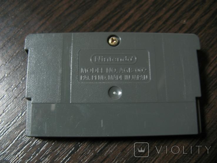Картридж для GBA gameboy лицензия, фото №4