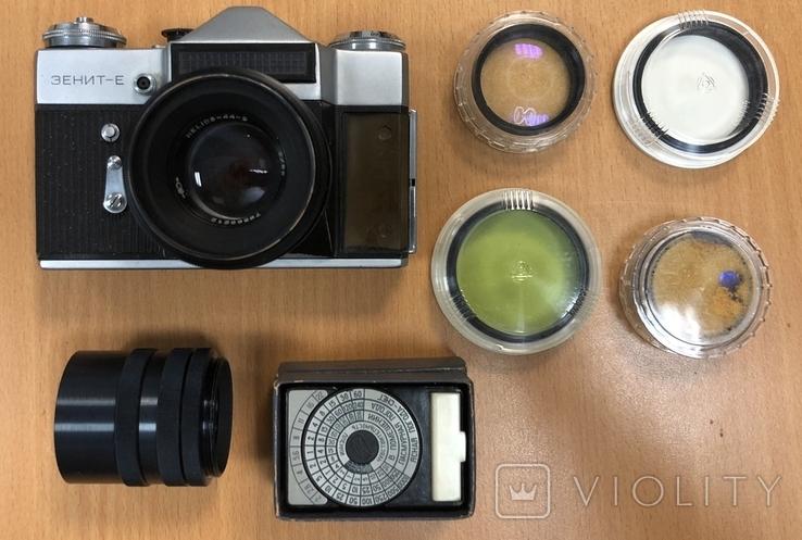 Фотоаппарат Зенит-Е, с объективом Helios 44-2, фото №4