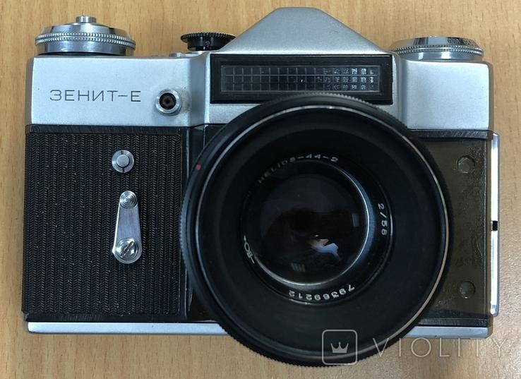 Фотоаппарат Зенит-Е, с объективом Helios 44-2, фото №5