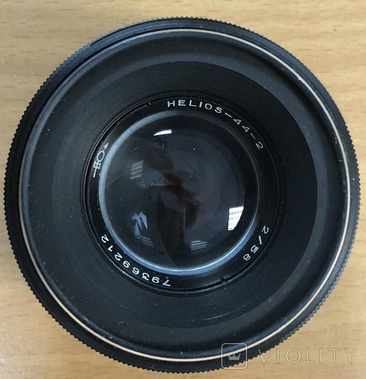 Фотоаппарат Зенит-Е, с объективом Helios 44-2, фото №9