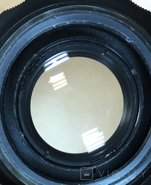 Фотоаппарат Зенит-Е, с объективом Helios 44-2, фото №12