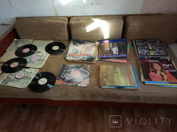 Грампластинка пластинка СССР 62 шт + 4 обложки, фото №7