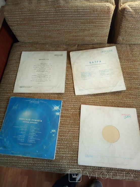 Грампластинка пластинка СССР 62 шт + 4 обложки, фото №9