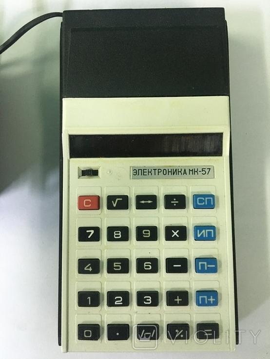 Калькулятор СССР-Электроника МК-57, фото №3