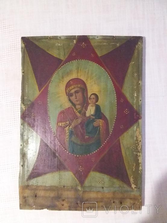 "Ікона ""Неопалимая Купина"", фото №3"
