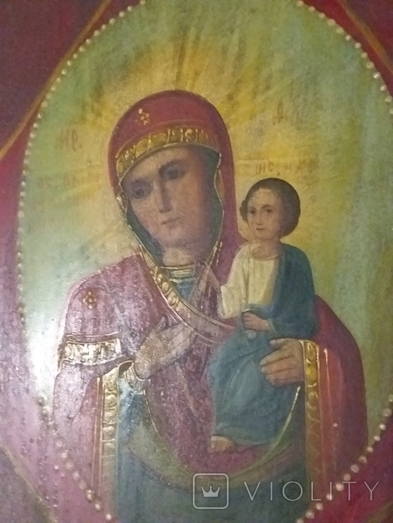 "Ікона ""Неопалимая Купина"", фото №4"