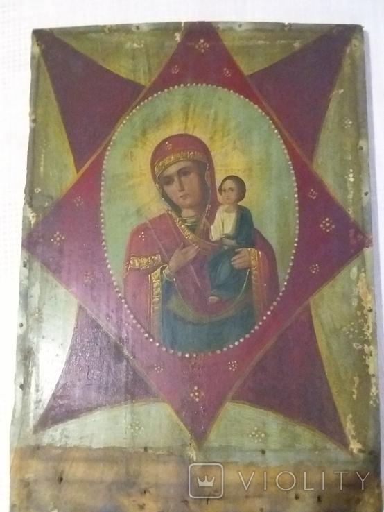 "Ікона ""Неопалимая Купина"", фото №5"