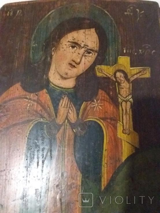 "Ікона ""Божа матір Ахтирська "", фото №3"