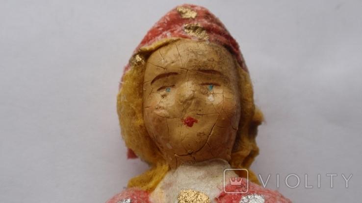 Ватная елочная игрушка из СССР, фото №12