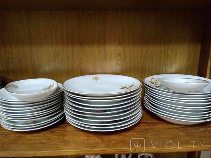 Набор тарелок, Польша (33 предмета), фото №2