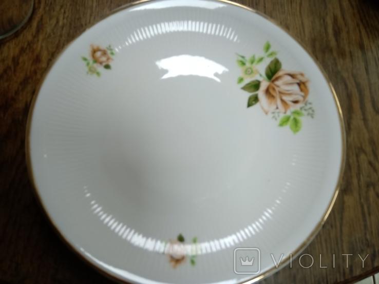 Набор тарелок, Польша (33 предмета), фото №3
