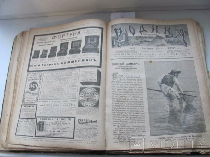 Родина. Комплект за полгода 1902 год. №№ 1 - 26., фото №12