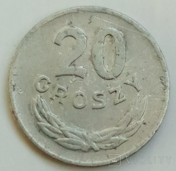 20 грошей 1949 г. Польша, фото №2