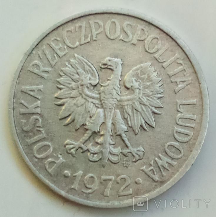 20 грошей 1972 г. Польша, фото №3