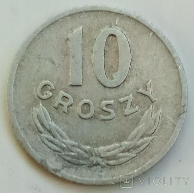 10 грошей 1966 г. Польша, фото №2