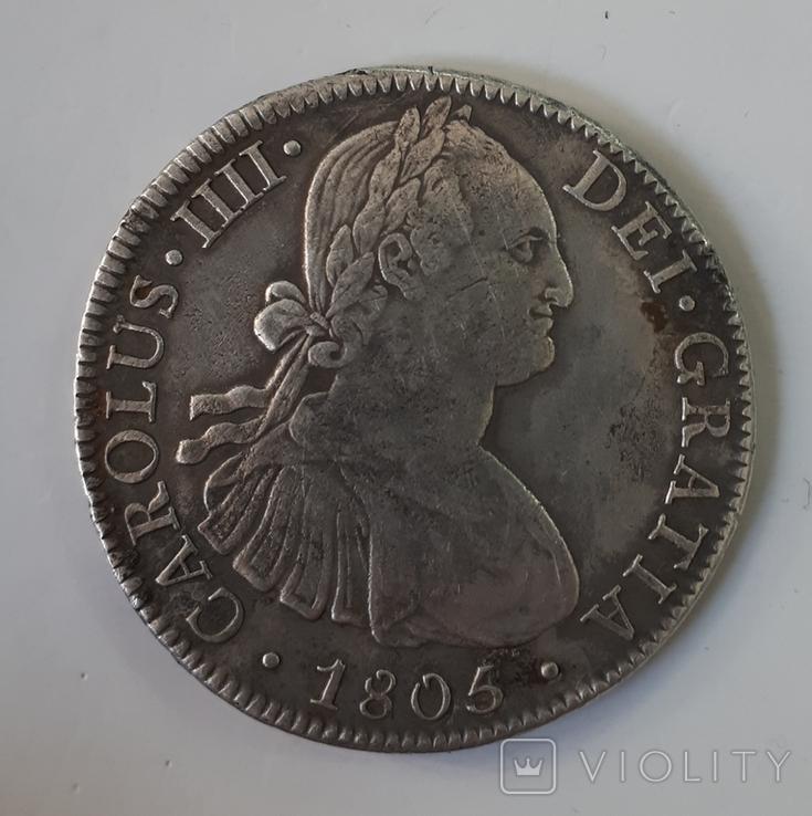 8 Реалів 1805 рік, фото №2