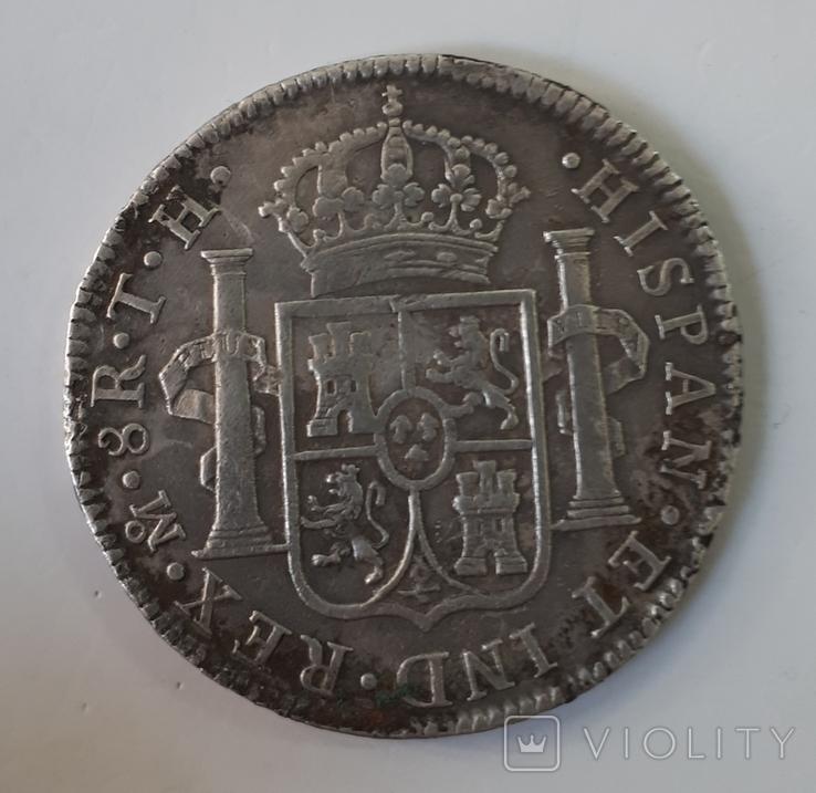 8 Реалів 1805 рік, фото №3