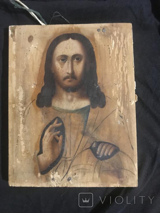 """Икона """"Господь Вседержитель"""" 19-20вв, фото №2"""
